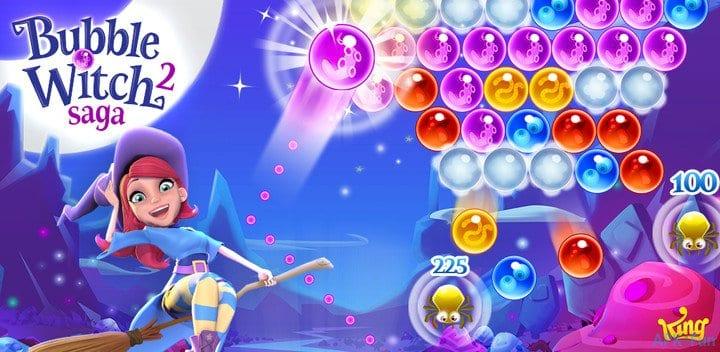Bubble Witch 2 Saga: Jak pozbyć się Frobble z planszy?
