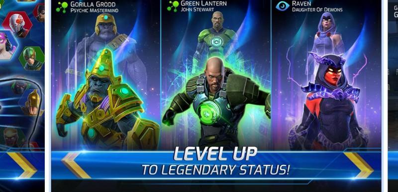 DC Legends: Battle for Justice – Jak awansować bohaterów?