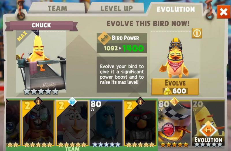 Angry Birds Evolution: Fuzja i ewolucja, czyli jak ulepszać ptaki?