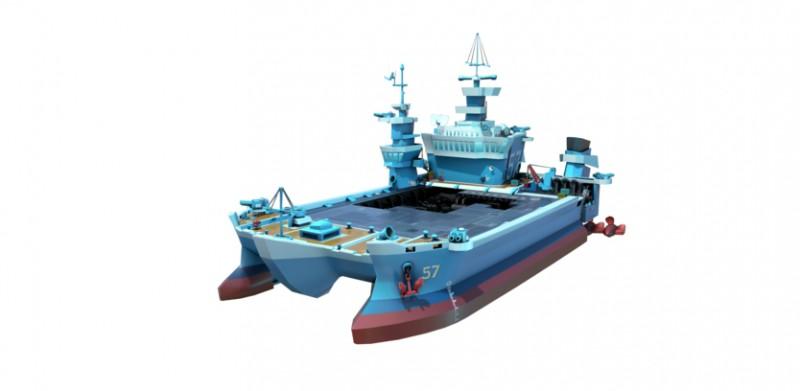 Boom Beach i okręty wojenne