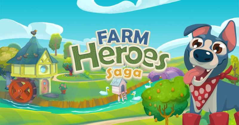 Jak usunąć świetliki w Farm Heroes Saga?