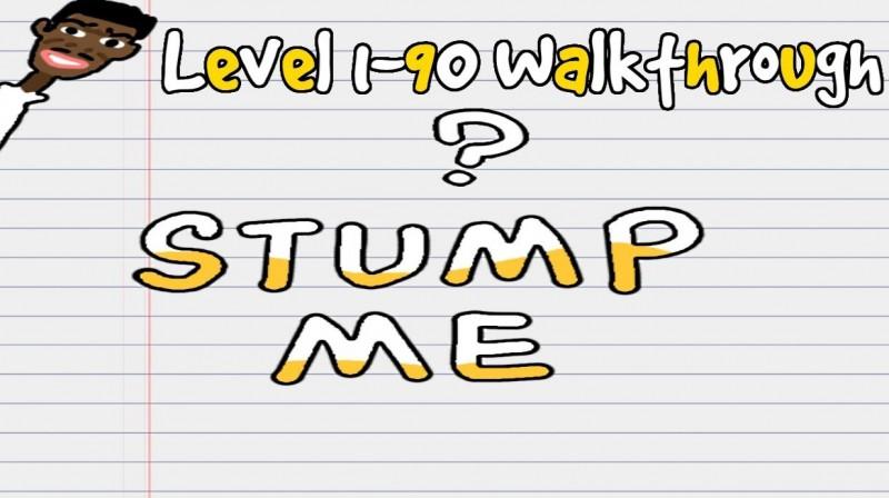 Stump Me: Odpowiedzi do zagadek / Rozwiązania zagadek