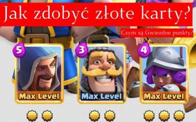 Clash Royale: Jak zdobyć złote karty?