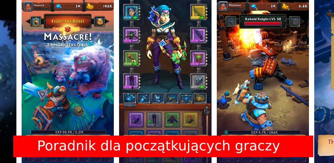 Poradnik do gry Never Ending Dungeon