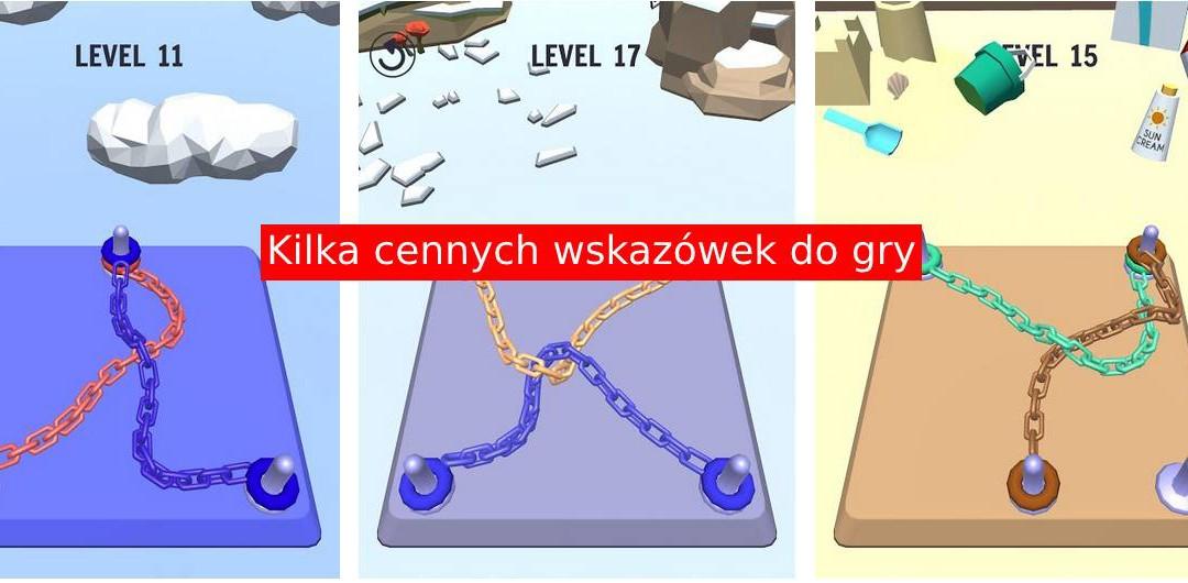 Go Knots 3D: Poradnik dla rozplątywaczy lin