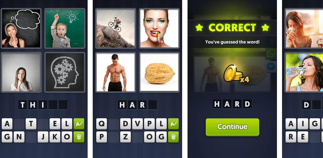 4 Pics 1 Word: Odpowiedzi i rozwiązania do wszystkich poziomów