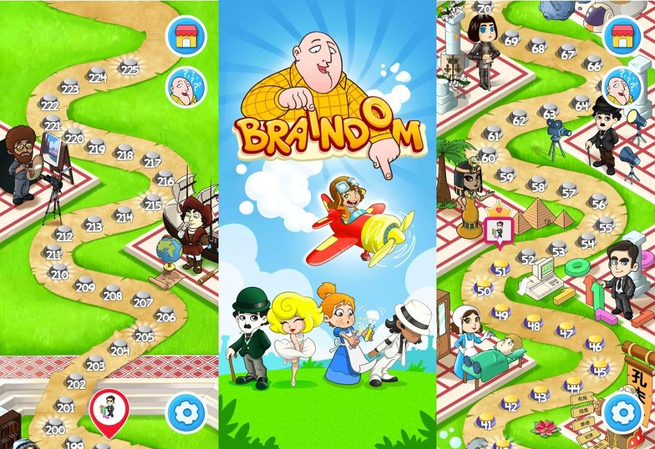 Braindom: Odpowiedzi i rozwiązania do zagadek (225 poziomów)