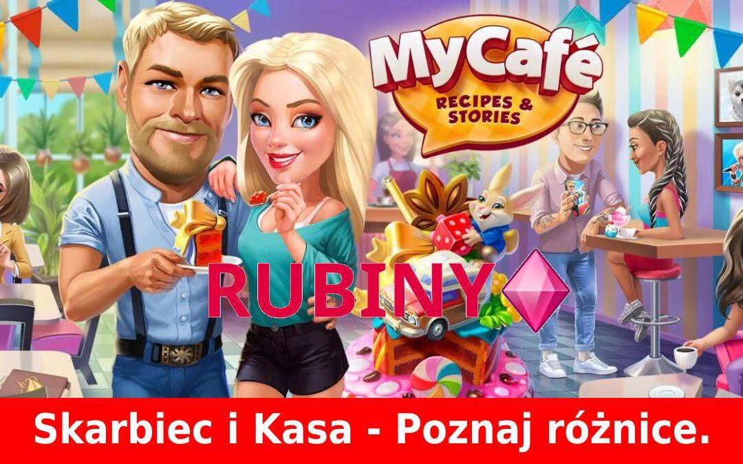 My Café: Skarbiec a kasa w miasteczku: jaka jest różnica?