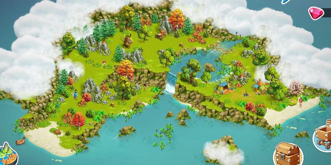 Family Island: Pobliska Wyspa i lokalizacja skrzyń
