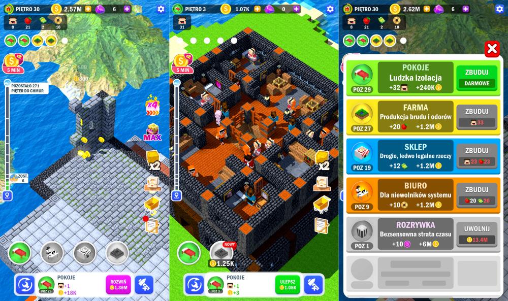 Tower Craft 3D: Poradnik do gry, wskazówki i tipy