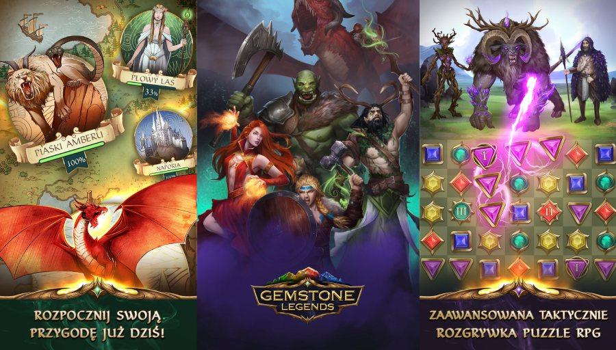 Gemstone Legends: Jak grać? Poradnik do gry