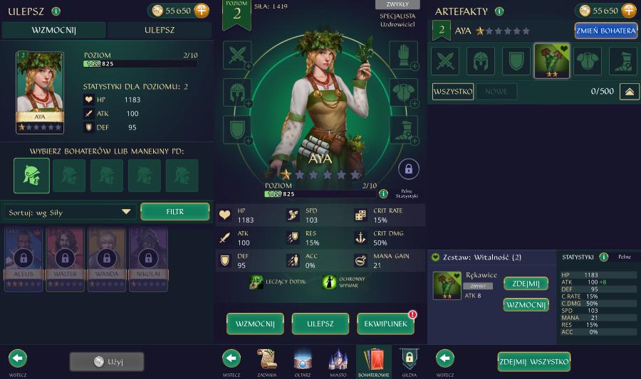 Gemstone Legends: Wszystko o bohaterach w grze