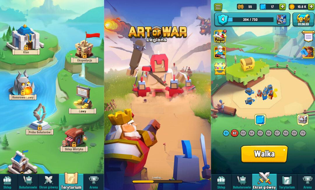 Art of War – Strategia budowania formacji – Ustawienia jednostek