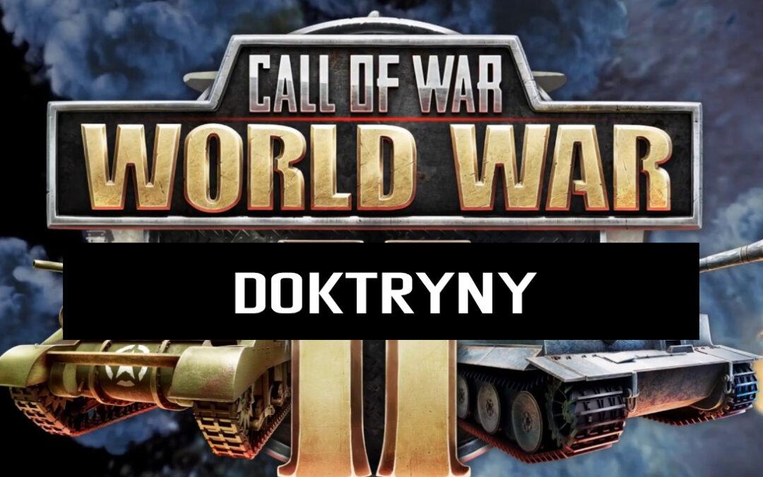 Call of War: World War 2 – Doktryny