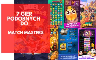 7 najlepszych gier, podobnych do Match Masters