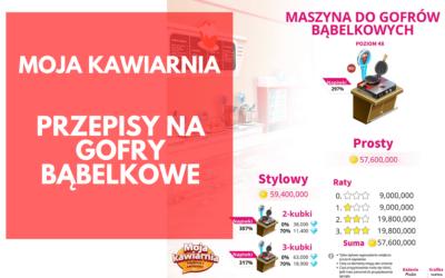 Moja Kawiarnia przepisy (lista) Gofry Bąbelkowe – My Café Recipes and Stories